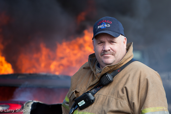 Fire photographer Tim Olk