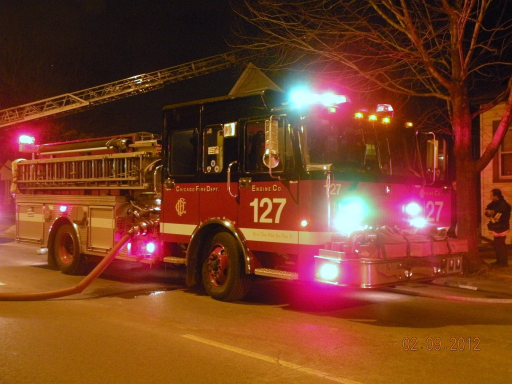 Chicago Fire Department Engine 127