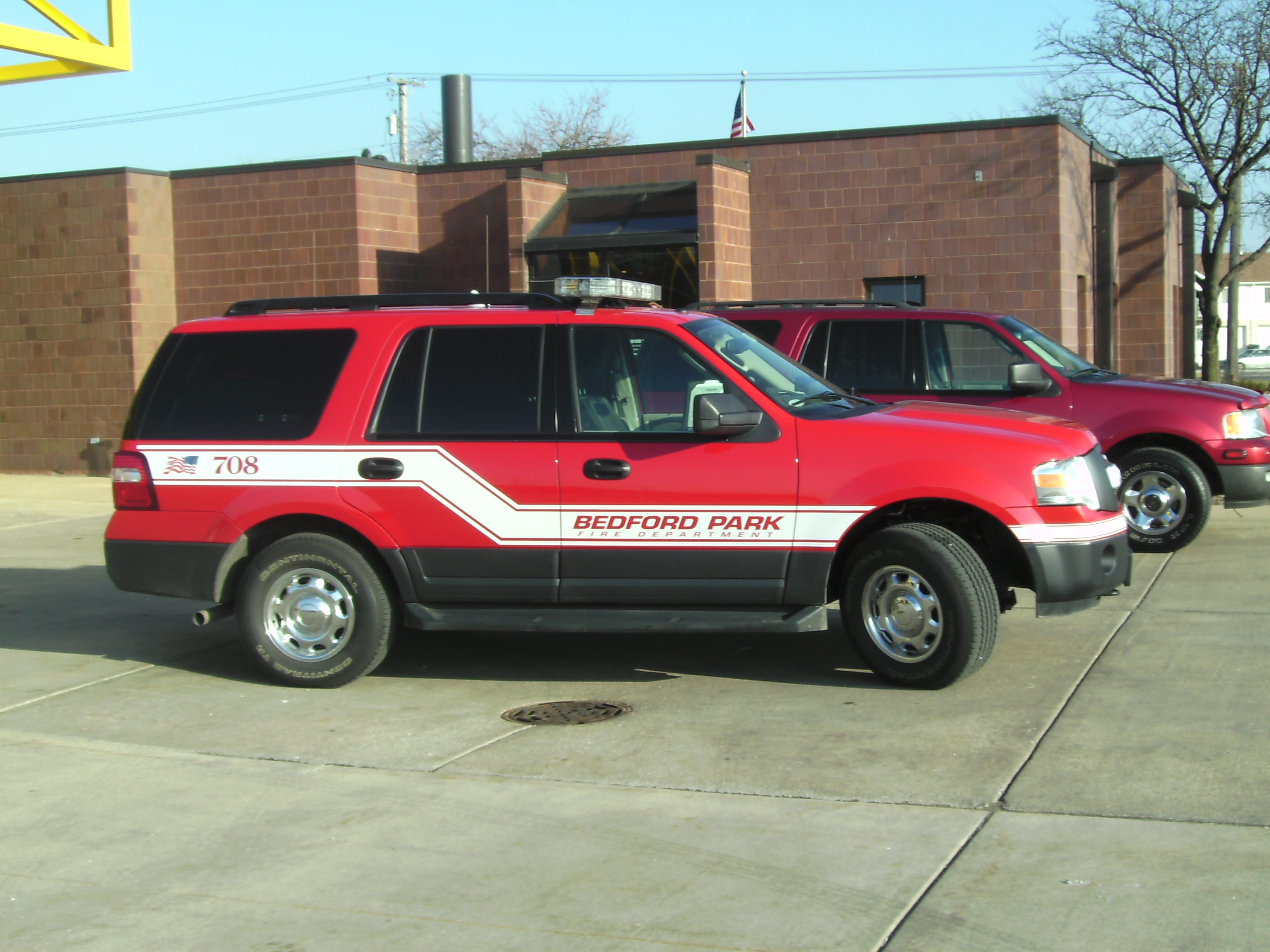 Battalion Chief for Bedford Park