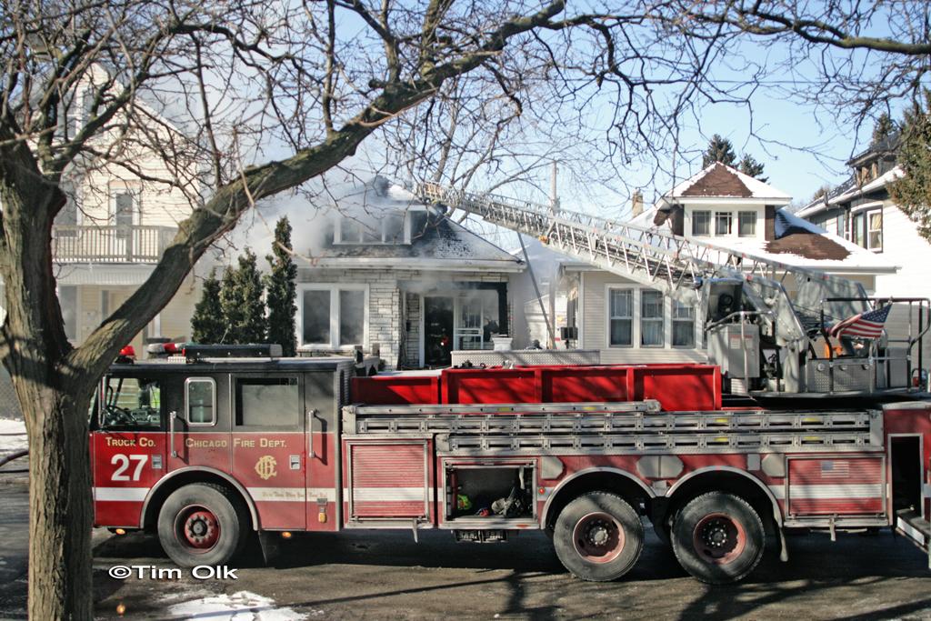 Chicago Fire Department Still & Box