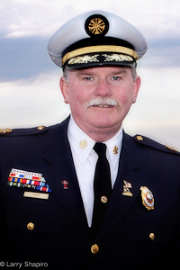 Chicago Fire Commissioner Robert Hoff