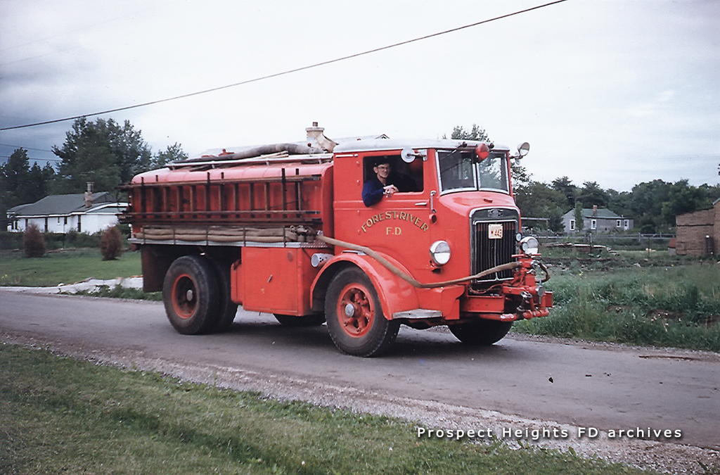 Forest River Fire Protection District tanker