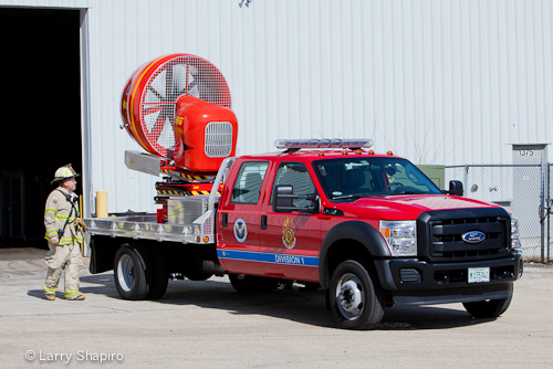 MABAS Mobile Ventilation Unit works in Schaumburg