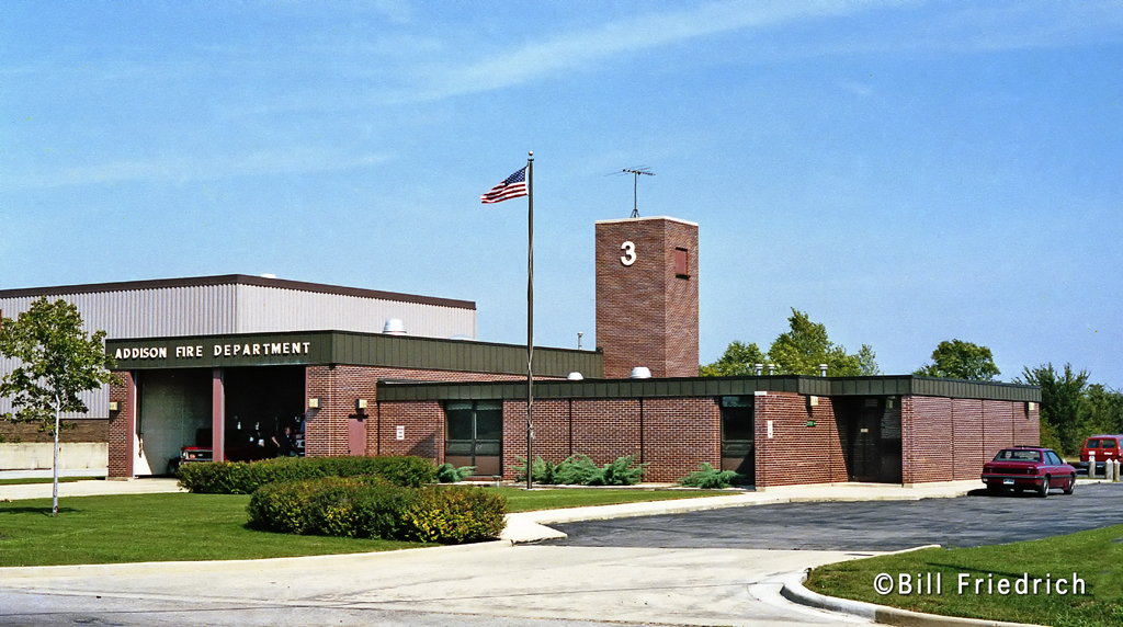 former Addison Fire Department Station 3