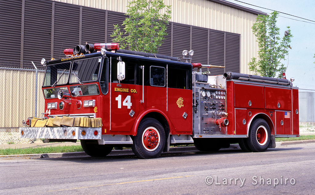 Chicago Fire Department Engine 14 Ward LaFrance