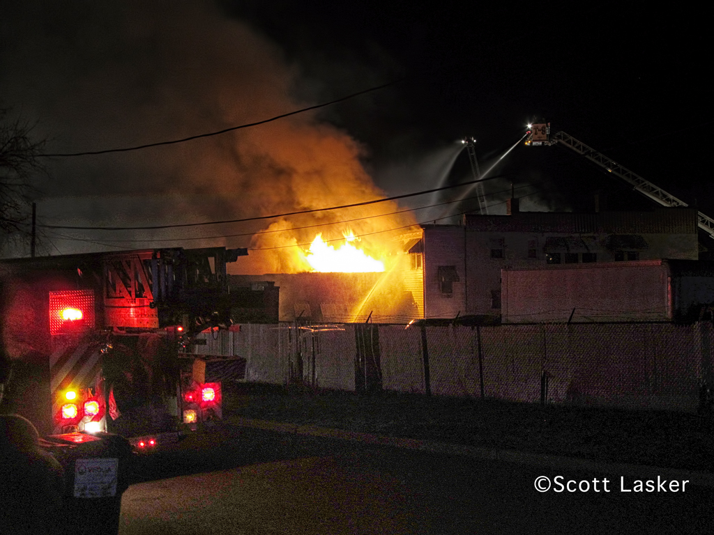 North Chicago Fire Department commercial fire 1032 Sheridan Road 3-18-12
