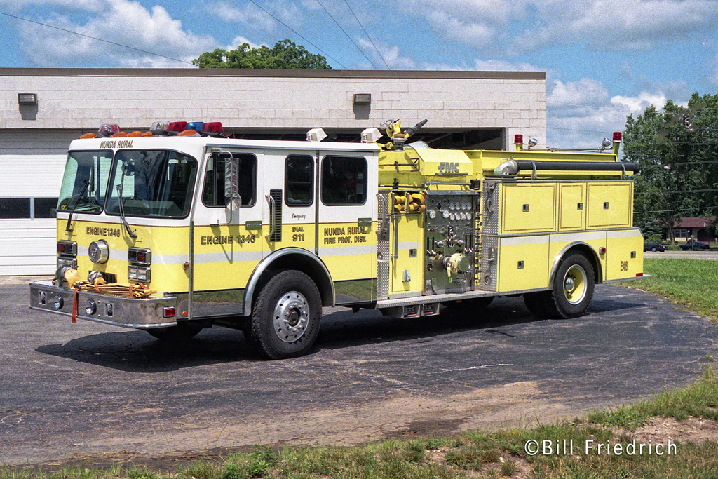 Nunda Rural Fire Protection District Engine 1346