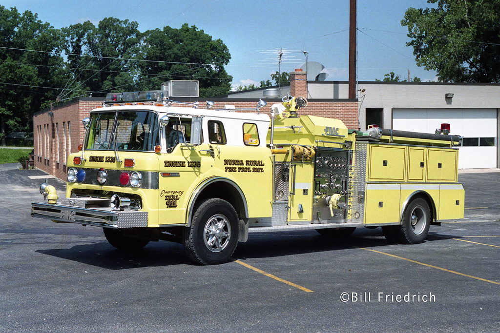 Nunda Rural Fire Protection District Engine 1336