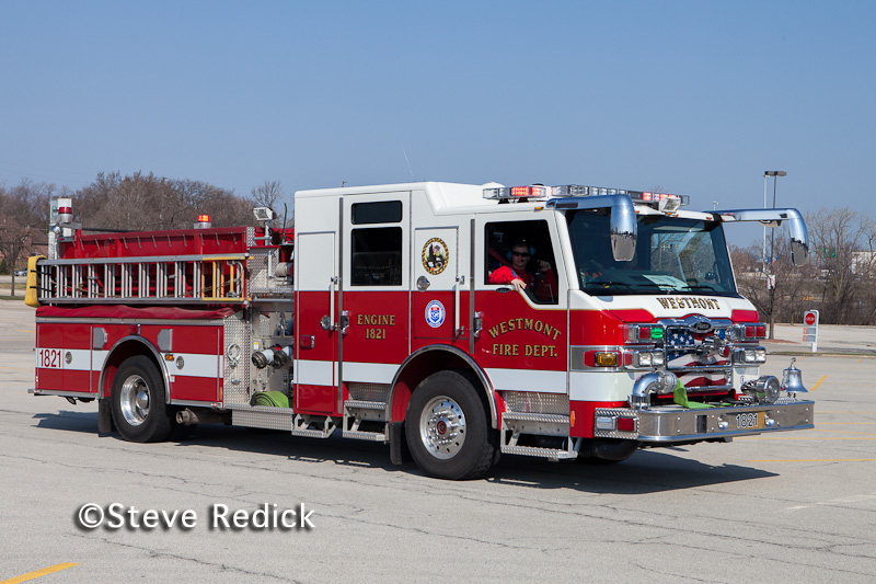 Westmont Fire Department Engine 1821 Pierce Impel
