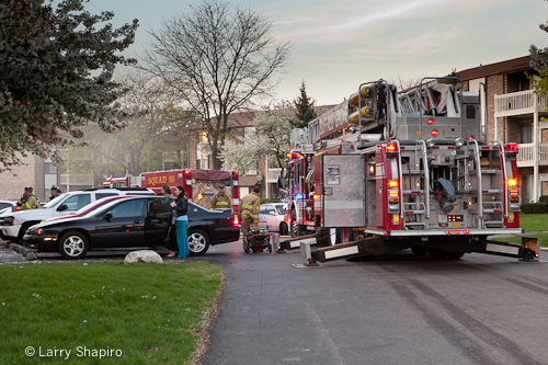 small fire at 2328 Nichols Road 4-3-12 Long Grove Fire Protection District