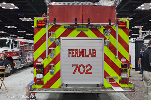 Fermilab Fire Department engine 702 UST