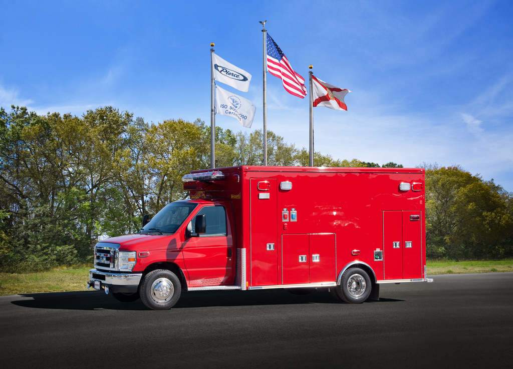 new Medtec Type III ambulance for Orland FPD