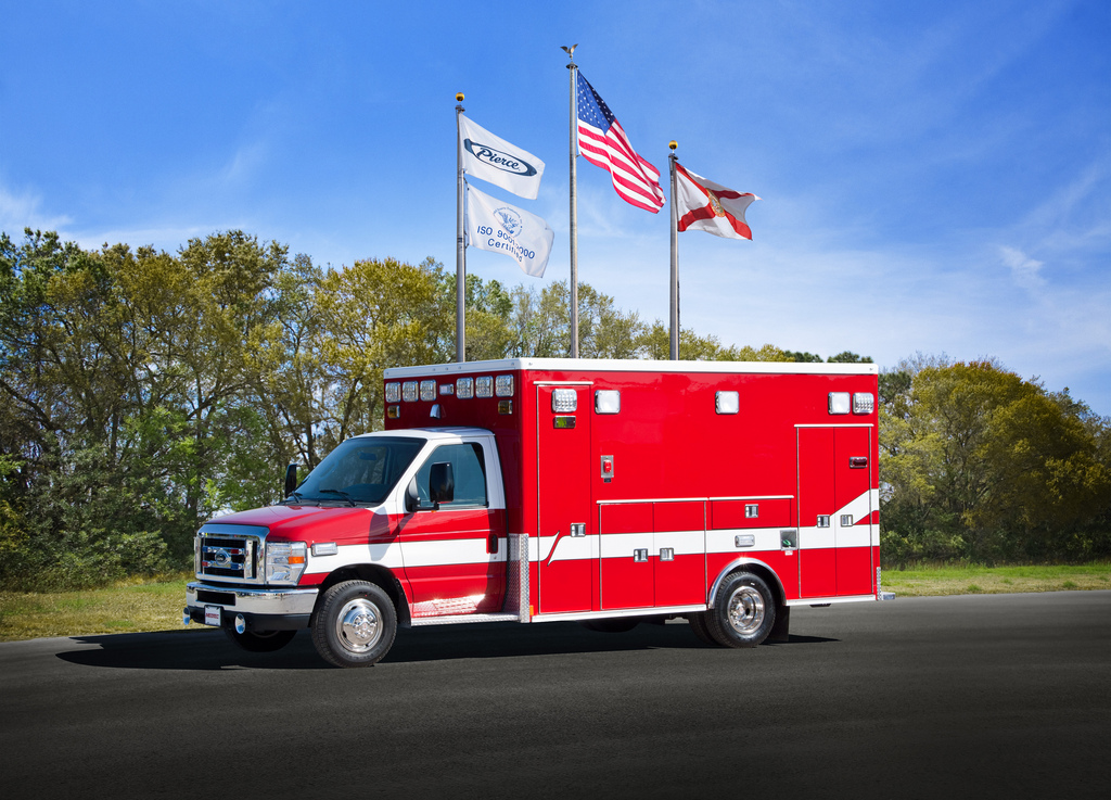 new Medtec Type III ambulance for Libertyville