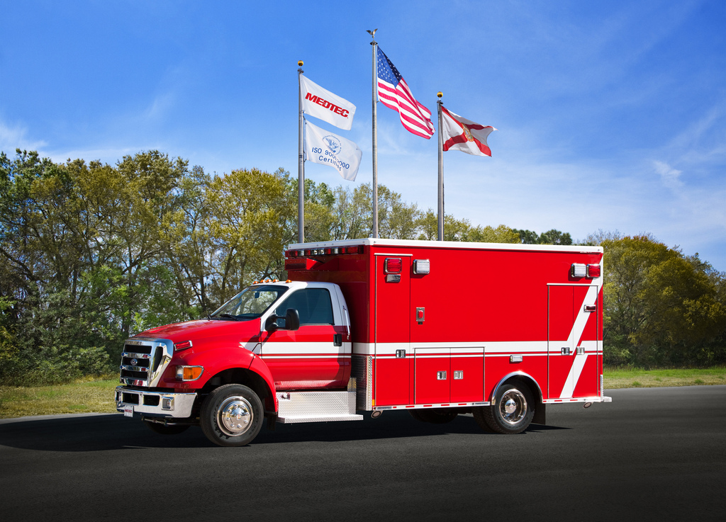 new Medtec ambulance for Roselle