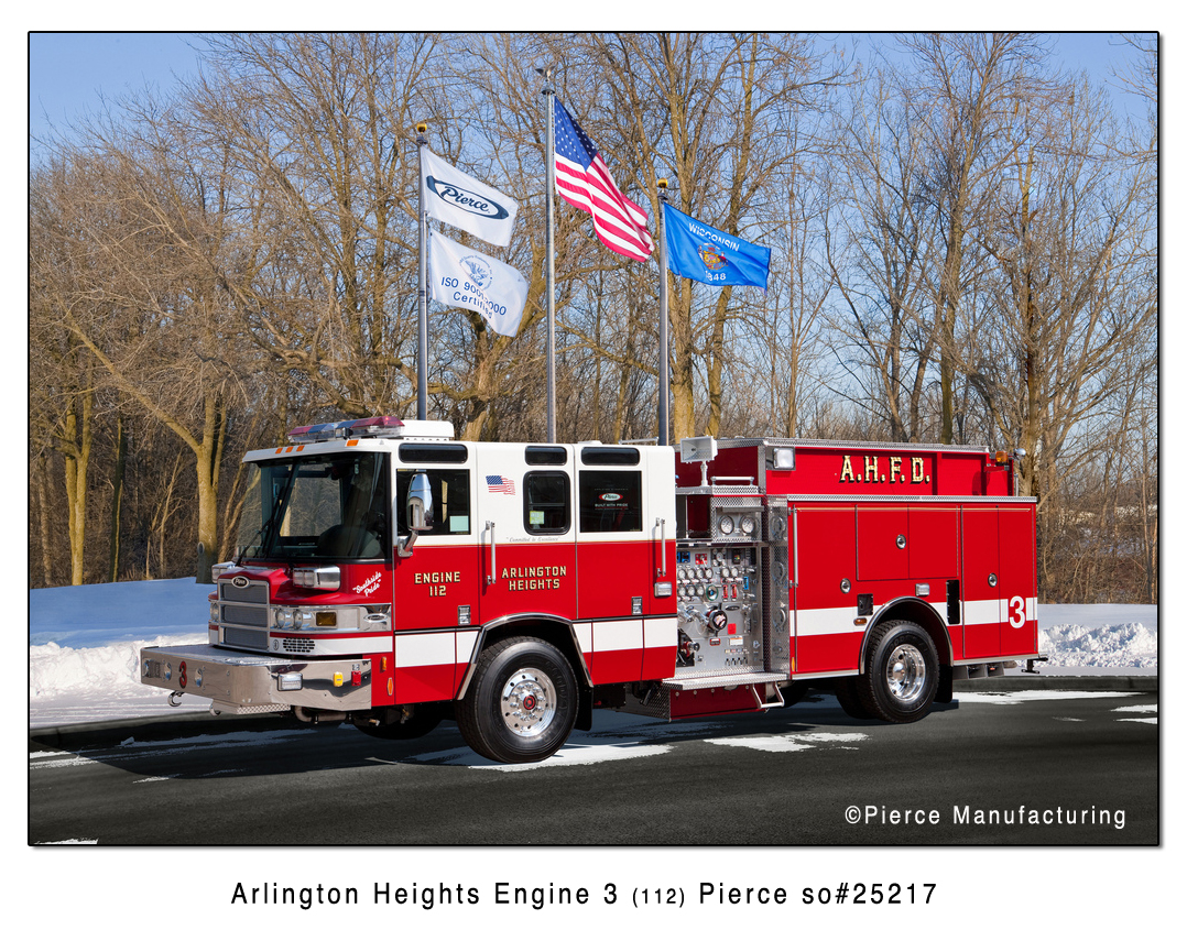 new Pierce Quantum engine for Arlington Heights