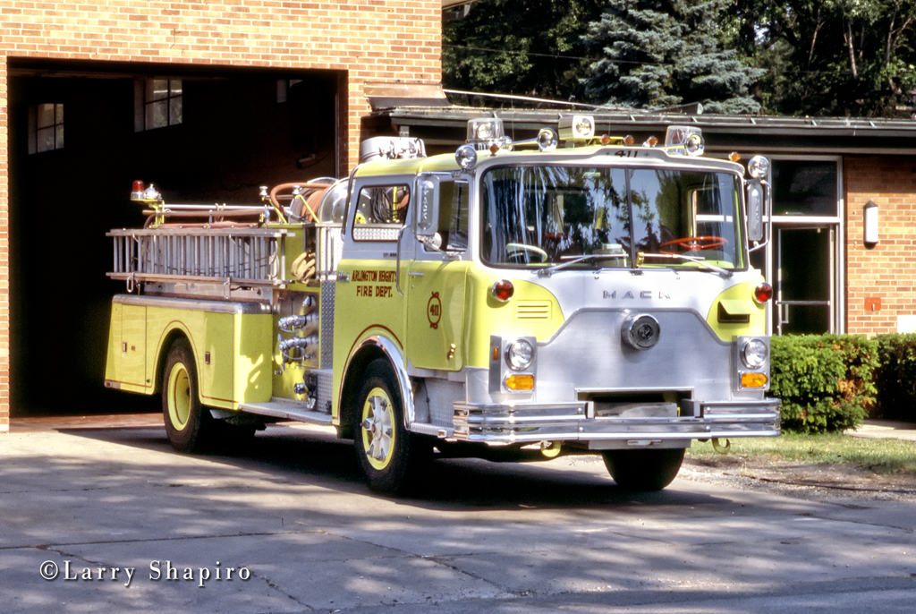 Arlington Heights Fire Department 1975 Mack CF engine