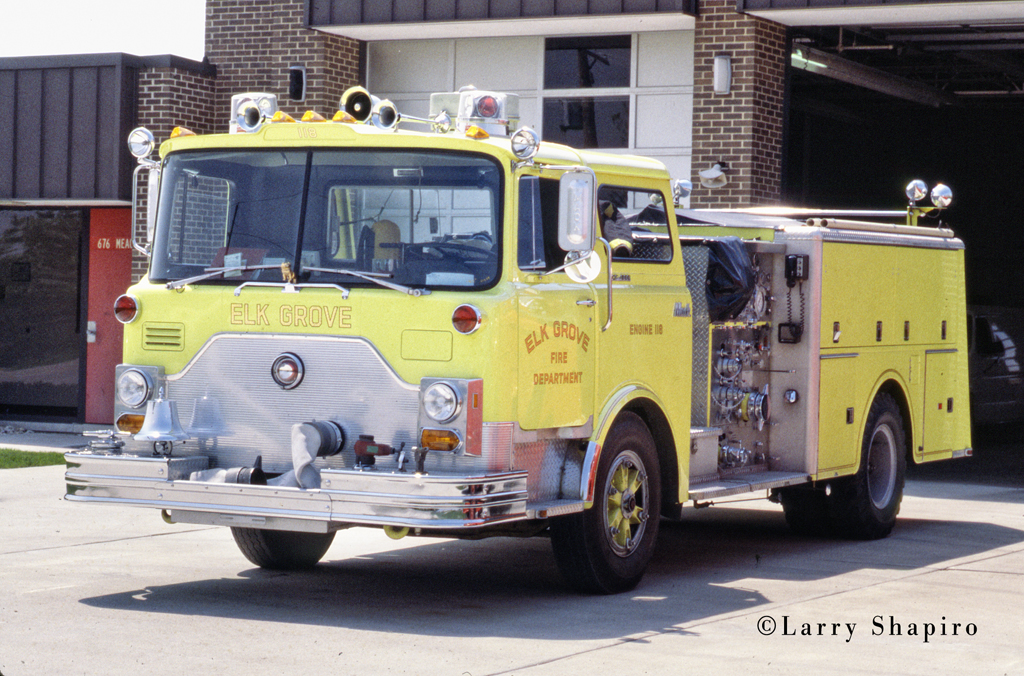 Elk Grove Village Fire Department Engine 118 1977 Mack CF