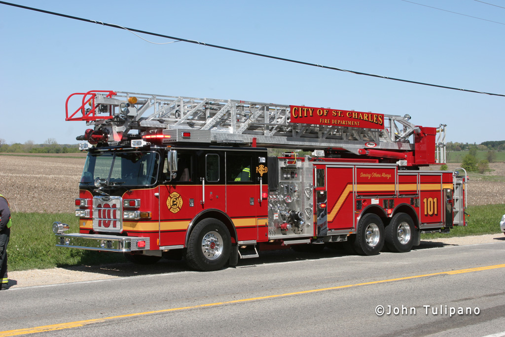 St. Charles Fire Department Pierce truck
