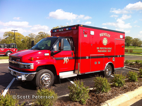 Huntley Fire Protection District Fire Trucks Apparatus