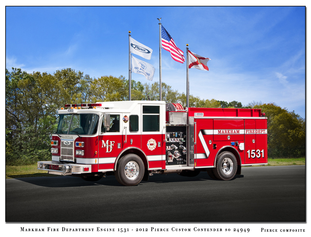 Markham Fire Department Pierce Contender Engine 1531