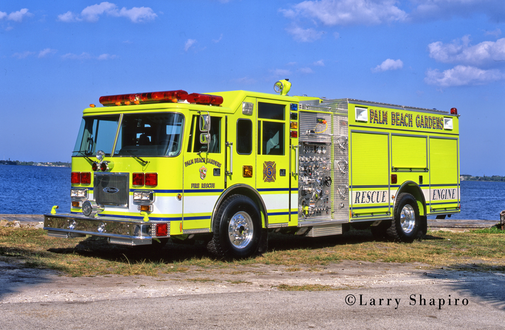 Palm Beach Gardens Fire Department Rescue Engine 5 Pierce Arrow