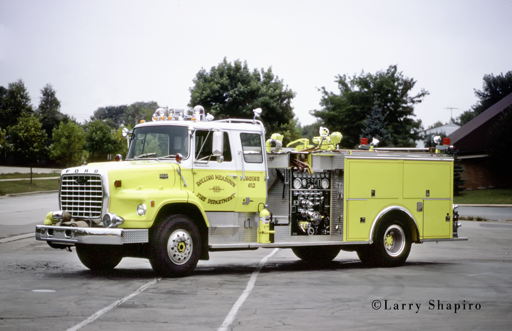Rolling Meadows Fire Department 1979 Pierce Suburban engine