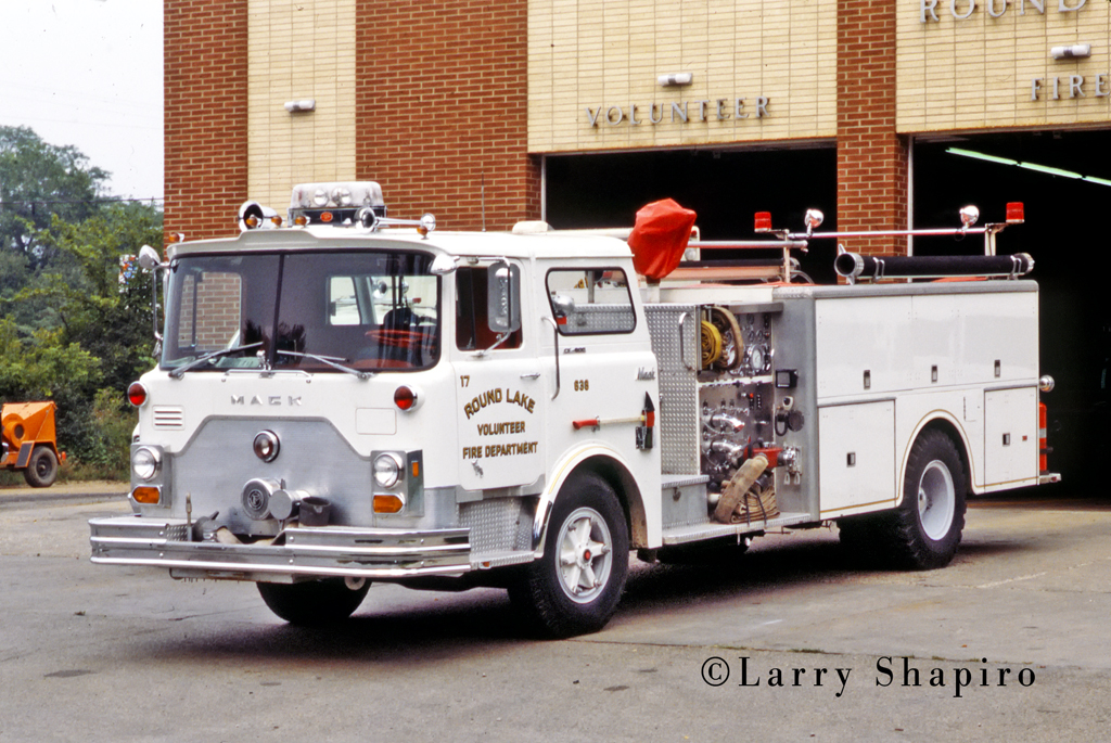 Greater Round Lake Fire Protection District Mack CF engine