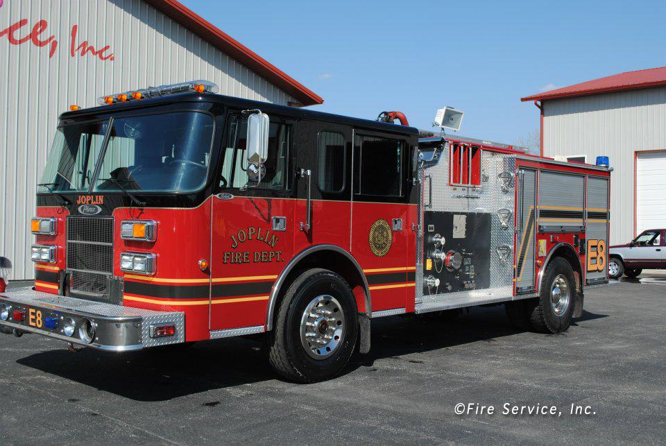 Riverdale Fire Department Pierce engine Joplin, Missouri Fire Departemnt