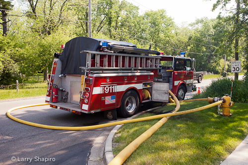 Beach Park commercial fire 5-20-12 Newport township FPD