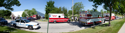 Explosion in Arlington Heights kills one and injures 10