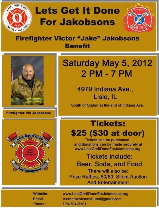 Vic Jakobsons' Fund Raiser