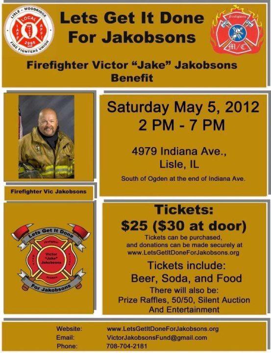 Vic Jakobsons' Fund Raiser