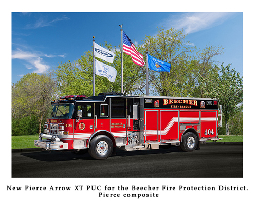 Pierce Arrow XT PUC for Beecher Fire Protection District