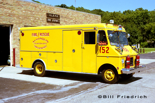 Algonquin-Lake in the Hills Fire Protection District 1968 Welch rescue squad