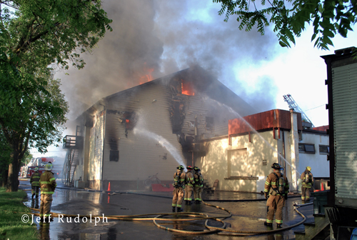 Beach Park Fire Department pet store fire on Wadsworth Road 5-20-12