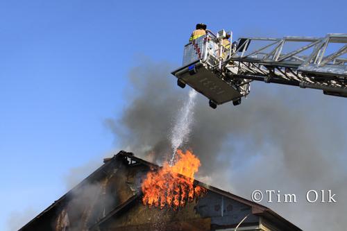 Beach Park commercial fire 5-20-12