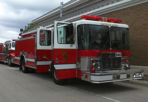 Crystal Lake Fire Department Engine 340