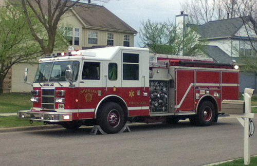 Crystal Lake Fire Department Engine 344