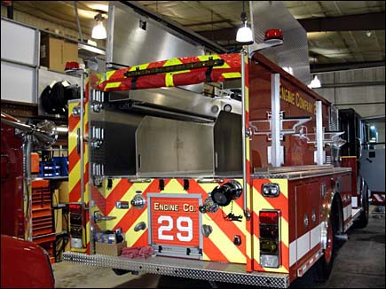 Carol Stream Fire Department Engine 29 Spartan Alexis