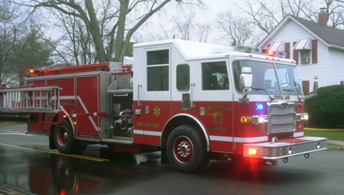 Crystal Lake Fire Department Engine 343