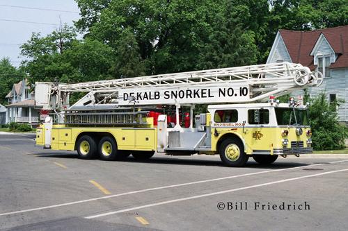 Dekalb Fire Department 1975 Ward LaFrance Hi-Ranger Snorkel