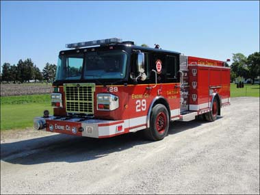 Carol Stream Fire Department Spartan Alexis Engine 29