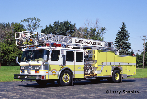 Darien-Woodridge FPD Truck 374