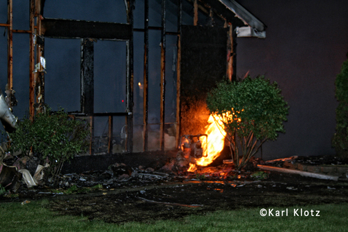 Frankfort FPD house fire 5-23-12 at 8303 Brickstone