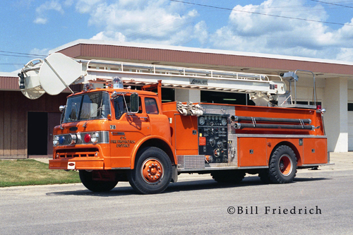 Genoa-Kingston Fire Protection District Pierce Aerial-ETT