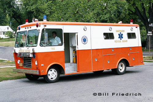 Harvard Rescue Squad 1977 Welch