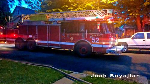 Chicago Fire Department Truck 52