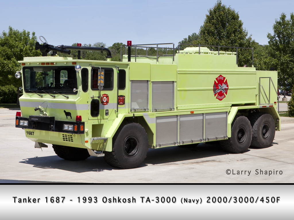 New Lenox Fire Protection District Oshkosh ARFF