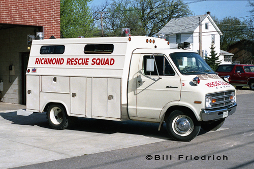 Richmond Fire Protection District rescue squad