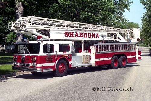 Shabbona Fire Protection District 1975 Ward La France Hi-Ranger Snorkel
